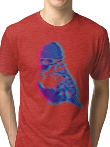 Bird Hair Day Tri-blend T-Shirt