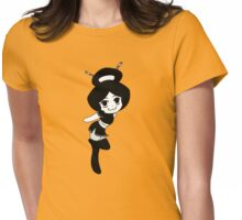 Oriental Chibi Womens Fitted T-Shirt