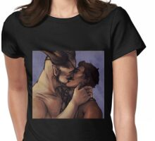 Kisses Womens Fitted T-Shirt