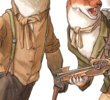 Steampunk Weasels Sticker