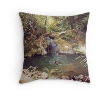 Hot Springs,  Great Barrier Island.........! Throw Pillow