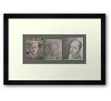 Wrong, Facade, Revealed Framed Print