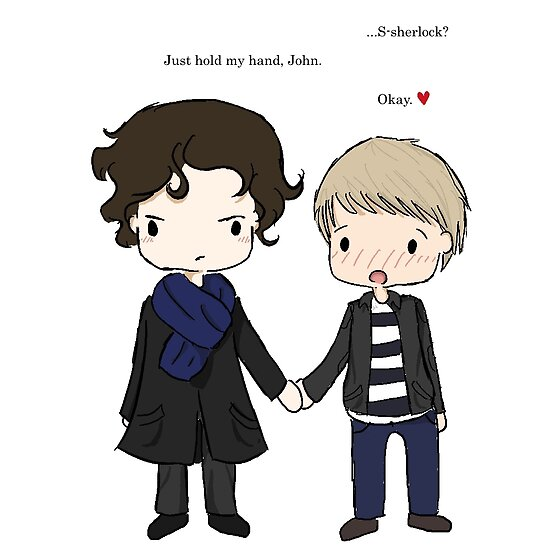 Let's Hold Hands-Johnlock by oceaniAMI