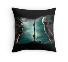 Harry&Voldemort Throw Pillow