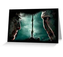 Harry&Voldemort Greeting Card