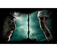 Harry&Voldemort Photographic Print