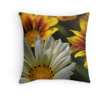 Floral Geometry Throw Pillow