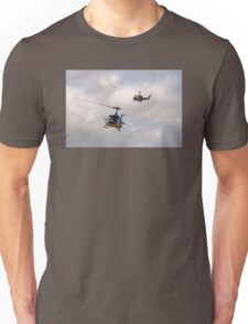 Bell UH-1 Iroquois Helicopters - (A Pair of Hueys) Unisex T-Shirt