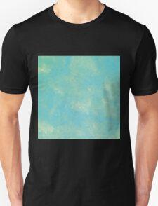 Mint Green Geometric Abstract Art T-Shirt