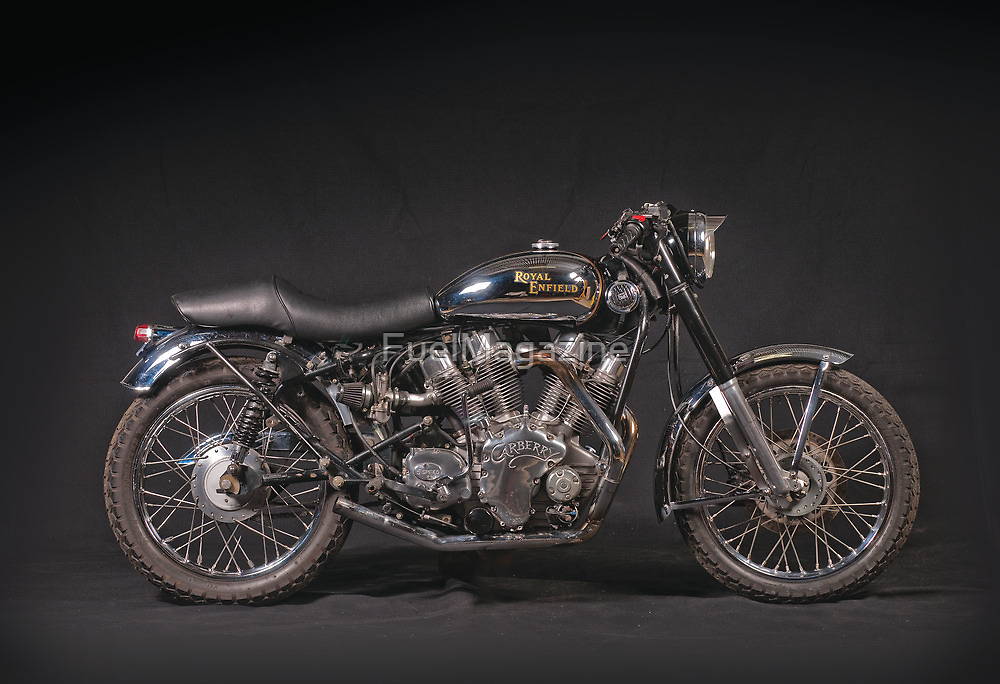 Royal Enfield Carberry V-twin by FuelMagazine
