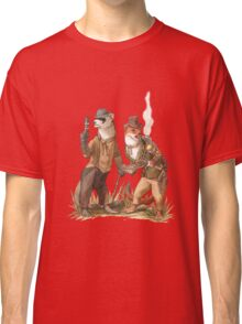 Steampunk Weasels Classic T-Shirt