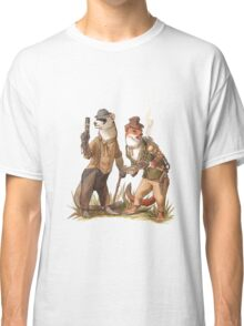 Steampunk Weasels Classic T-Shirt