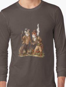 Steampunk Weasels Long Sleeve T-Shirt