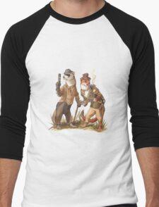Steampunk Weasels Men's Baseball ¾ T-Shirt