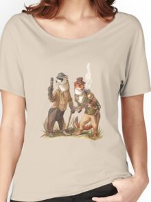 Steampunk Weasels Women's Relaxed Fit T-Shirt