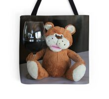 Chuckles & a Glass of Red Tote Bag