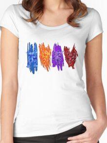 TMNT Rock Women's Fitted Scoop T-Shirt