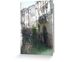 The Canel Greeting Card