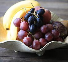 Fruit in a Pottery Bowl by aussiebushstick