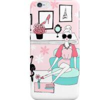 Pink Interiors iPhone Case/Skin