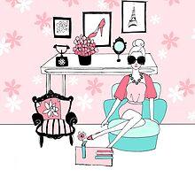 Pink Interiors by MelissaFashion