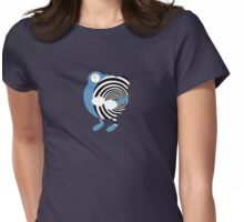 Spiral Womens Fitted T-Shirt