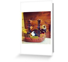 Pirate guinea pigs Greeting Card