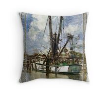 The Sea Rover Throw Pillow