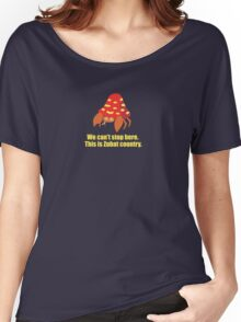 Fear and Loathing in the Mt. Moon. Women's Relaxed Fit T-Shirt