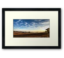 Afternoon Delight. Framed Print