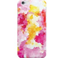 Bright Pink Geometric Abstract iPhone Case/Skin
