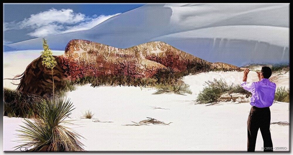Decaying in White Sands by Richard  Gerhard