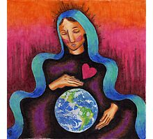Earth Mother Mary Photographic Print