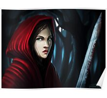 Red Riding Hood (Not so little any more) Poster