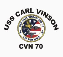USS Carl Vinson (CVN-70)  Crest by Spacestuffplus