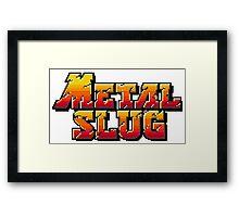 Metal Slug logo Framed Print