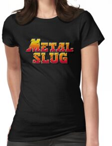 Metal Slug logo Womens Fitted T-Shirt