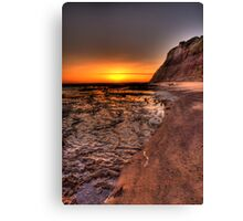 Long Reef Dawn - Long Reef, Sydney Australia - THe HDR Experience Canvas Print