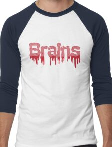 Brains Men's Baseball ¾ T-Shirt
