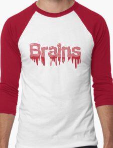 Brains Men's Baseball ¾ T-Shirt