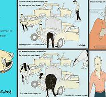 Quark-Trabis, Guys, Holsteins and Werner Herzog by Cameron Hampton