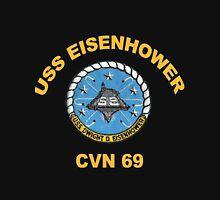 USS Dwight D. Eisenhower (CVN-69) Crest for Dark Colors Classic T-Shirt