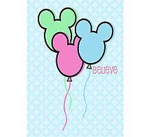 But Mickey Balloons. Photographic Print