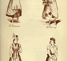 Fancy dresses described or What to wear at fancy balls by Ardern Holt 228 Palience Pansy Polish Puritan by wetdryvac