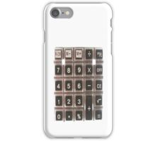 Add This Up on Your iPhone iPhone Case/Skin