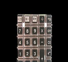 Calculator in Black by Jeff Pierson