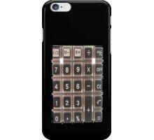 Calculator in Black iPhone Case/Skin