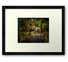 Woodland Mystery Framed Print