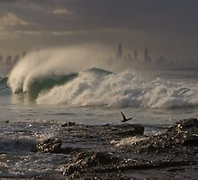 Evening Wave by Werner Padarin