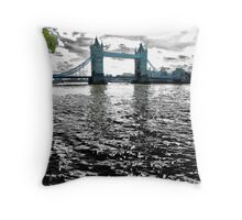 The River Runs Dark Throw Pillow